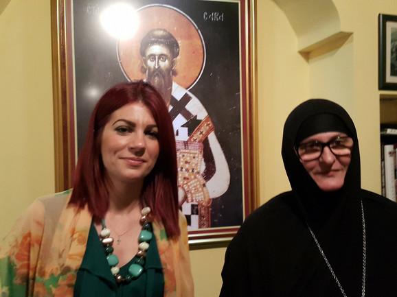 Jovana Stojković i igumanija Efrosinija