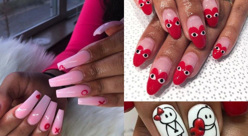 10 gorgeous Valentine's day nail art designs you will want to try(Photos)