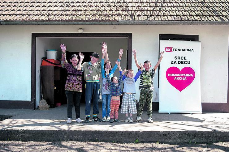 Srce za decu, porodica ilić, ilic
