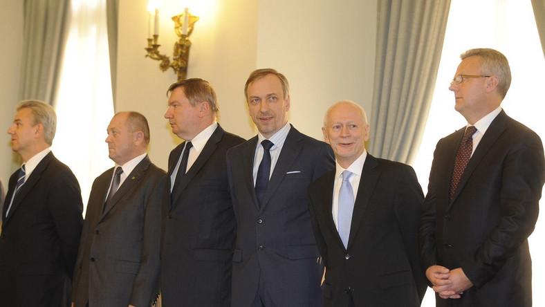 Zaprzysiężenie nowego rządu Donalda Tuska