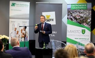 O innowacjach w samorządzie i biznesie rozmawiano w Ostrowi Mazowieckiej