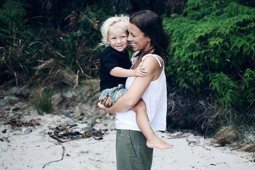 Anna nie może powstrzymać łez, synek zmarł w jej ramionach