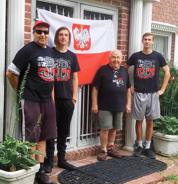 Andrzej Rawicz, mieszkający od 1949 r. w USA, wraz z rodziną