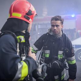 Jak Maciej Zakościelny został strażakiem