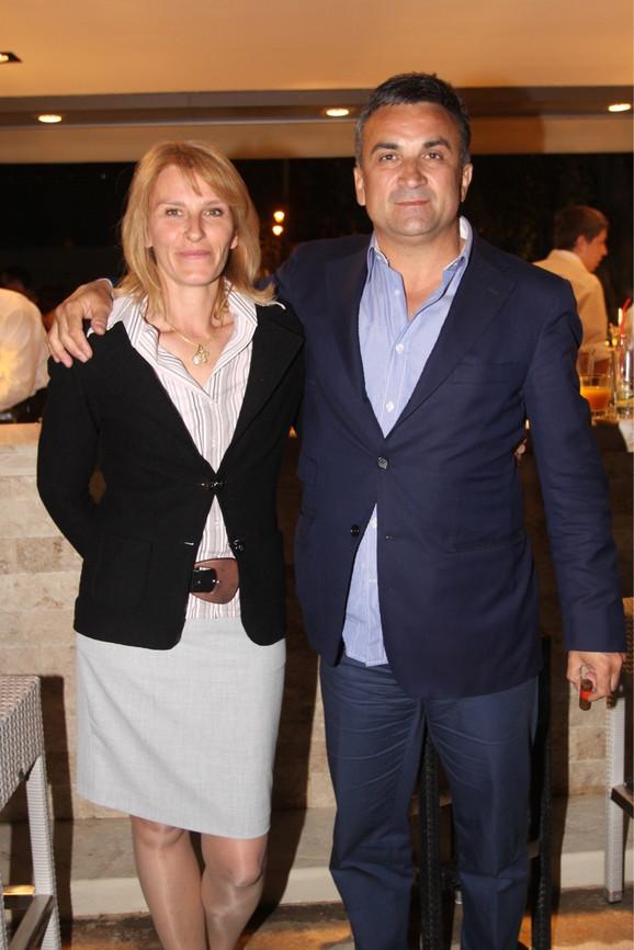 Dijana i Srđan Đoković
