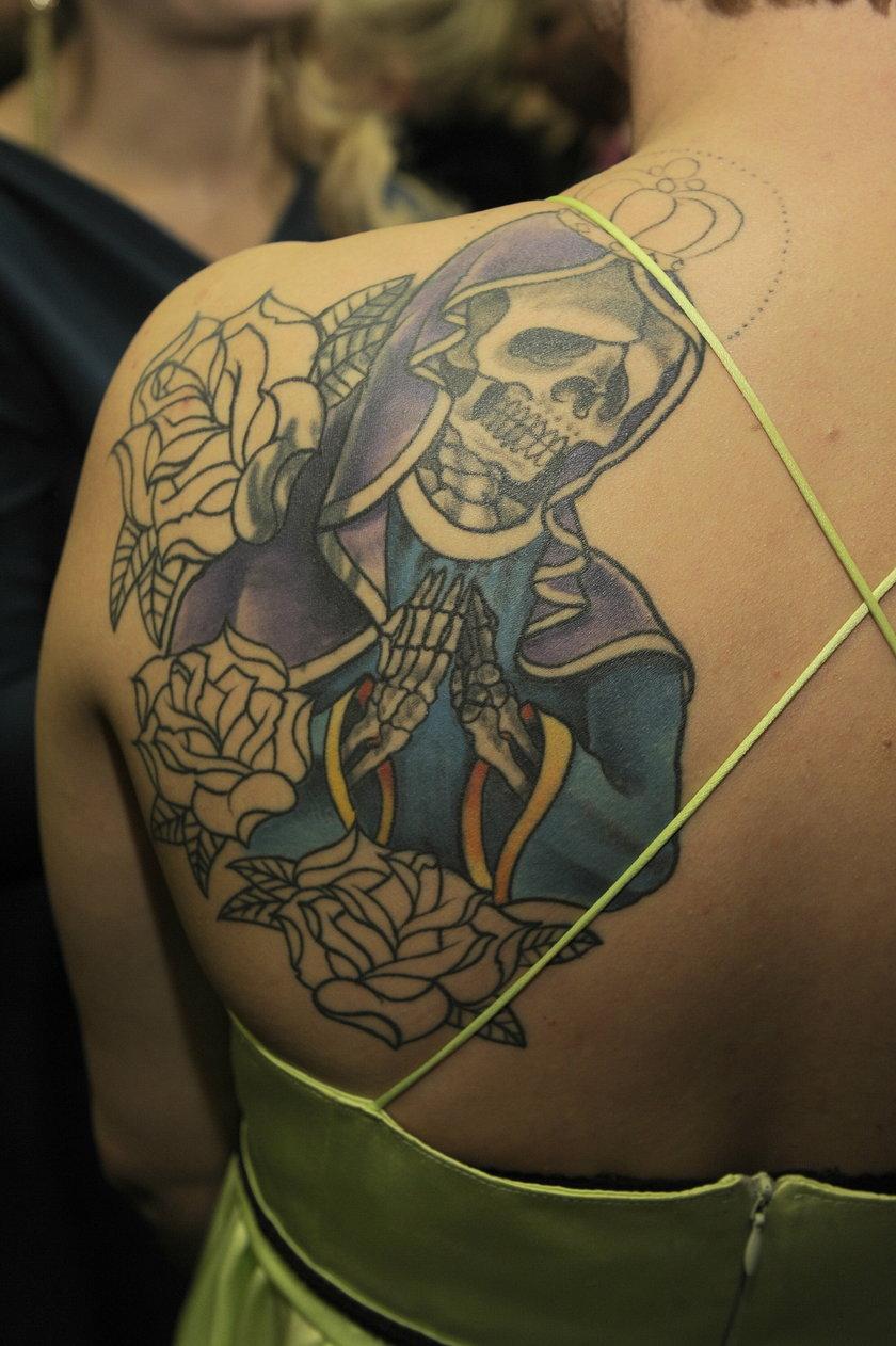 Roma Gąsiorowska tatuaż
