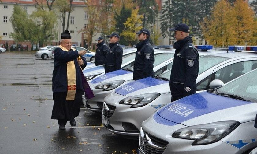 Nowe radiowozy dla poznańskiej policji