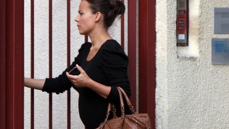 W czasie ciąży Anna Mucha regularnie odwiedza lekarza.