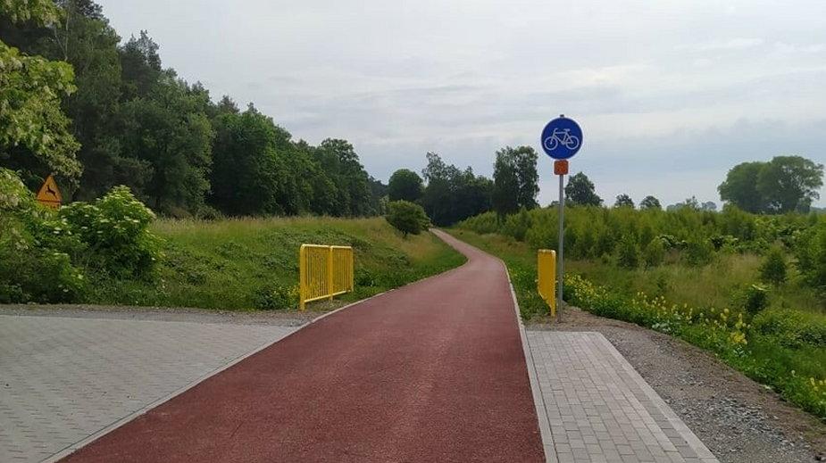 Nowa ścieżka rowerowa połączyła dwie nadmorskie miejscowości - Stegnę i Sztutowo