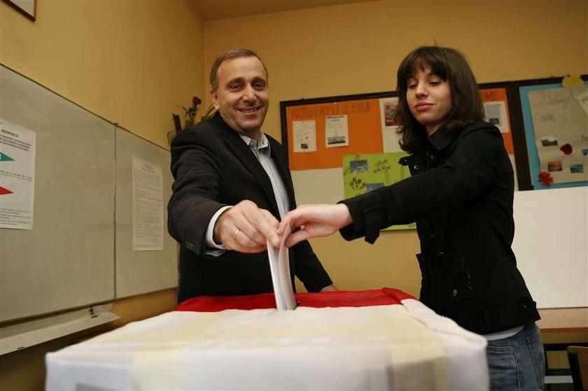 schetyna, córka, głosowanie