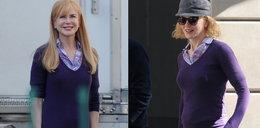 Nicole Kidman w godzinę urosły włosy!
