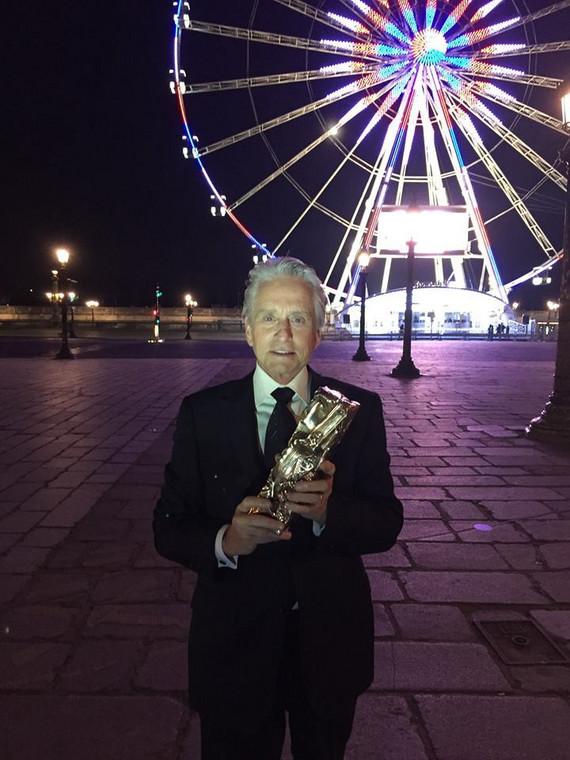 Michael Douglas doceniony w Paryżu