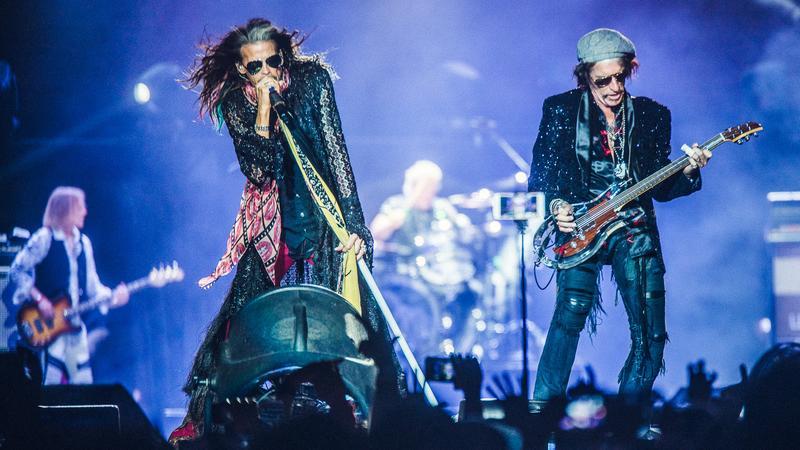 Koncert Aerosmith w Tauron Arenie w Krakowie