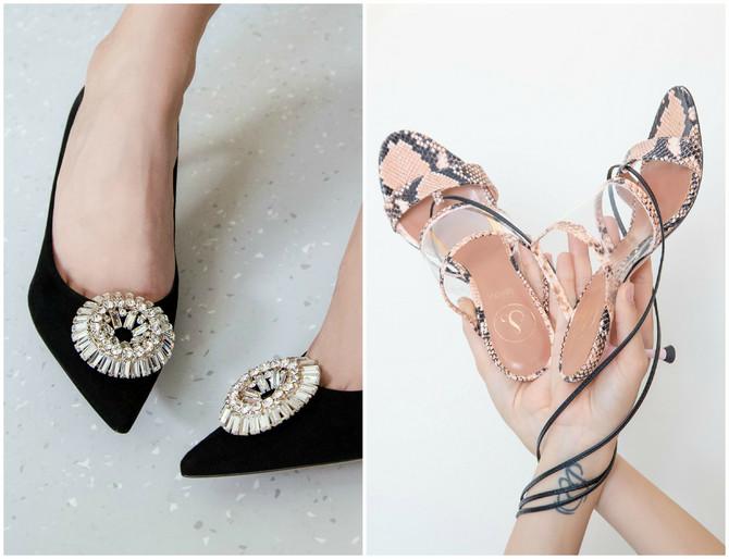 Dva modela cipela iz nove Lei Lou kolekcije