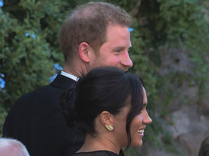 Megan u PROVIDNOJ HALJINI izazvala pometnju na venčanju godine: A onda se pojavila Ivanka Tramp u stilu GRČKE BOGINJE