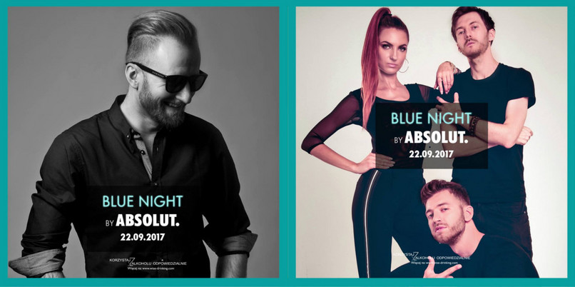 Laureaci konkursu UNCOVERED imprezy Blue Night by Absolut