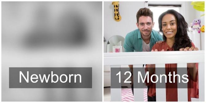 Evo kako se razvoija bebin vid od trenutka rođenja do prvog rođendana