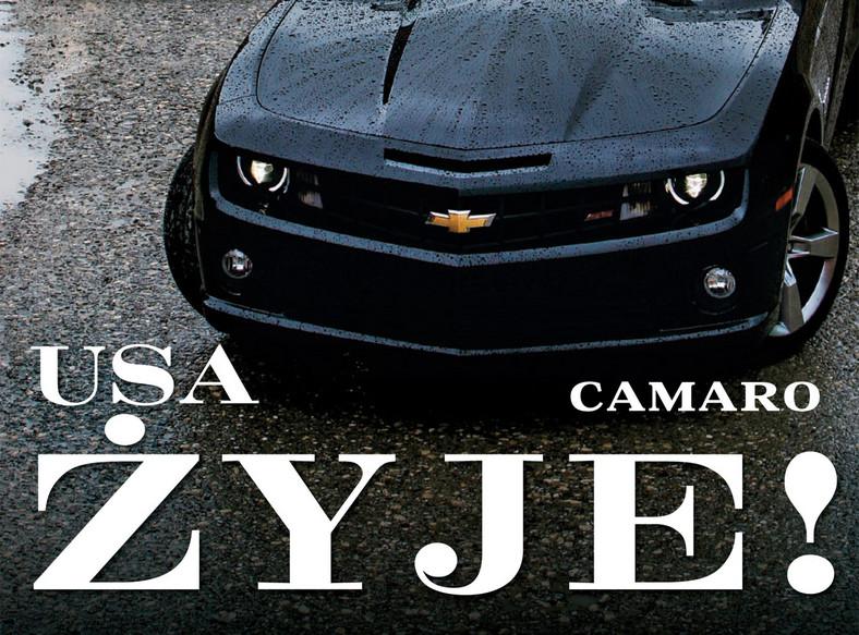 Camaro kontra Challenger i Mustang