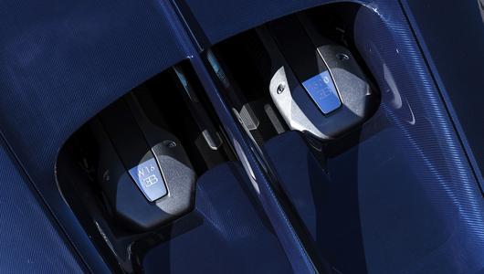 Nowe zelektryfikowane Bugatti
