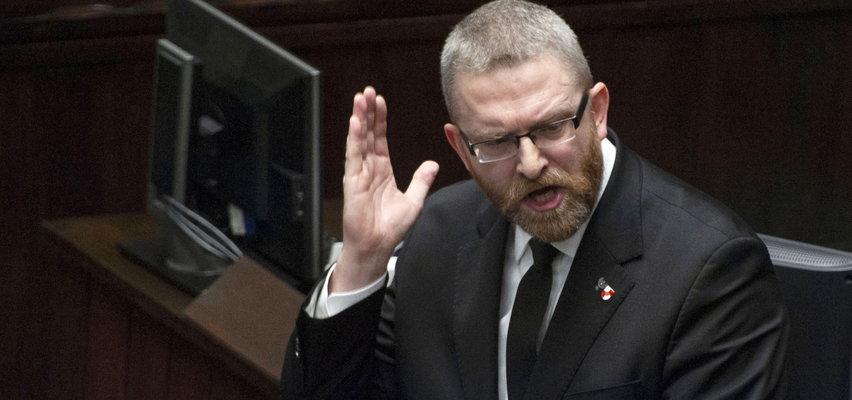 """Jest decyzja Prezydium Sejmu ws. Brauna. """"Najwyższa możliwa kara finansowa"""""""
