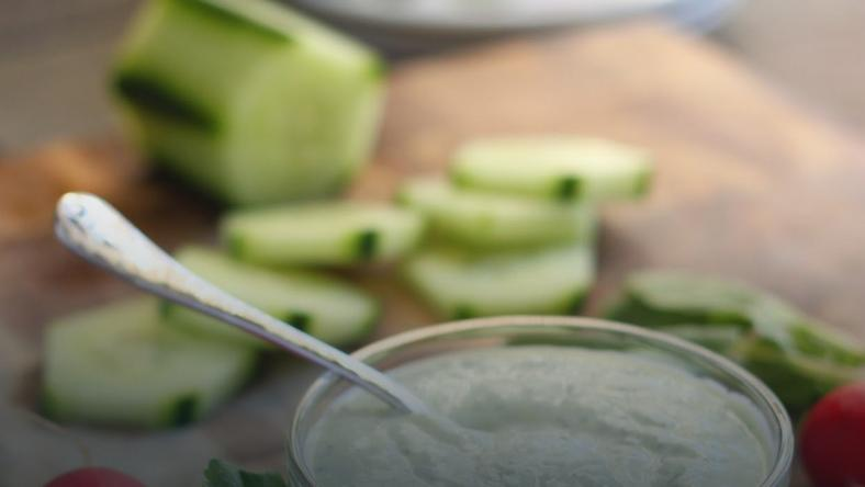 Herbed Yogurt Dip (The Cilantropist)