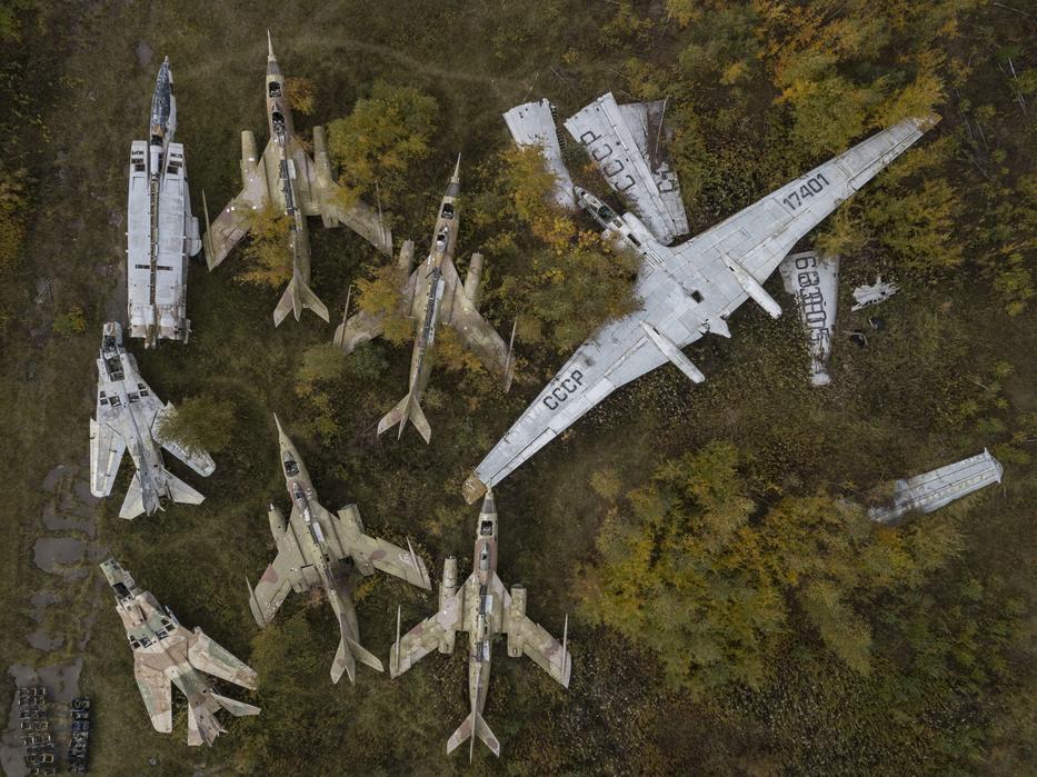 A volt szovjet vadászgépeket és katonai repülőgépek / Fotó: Northfoto