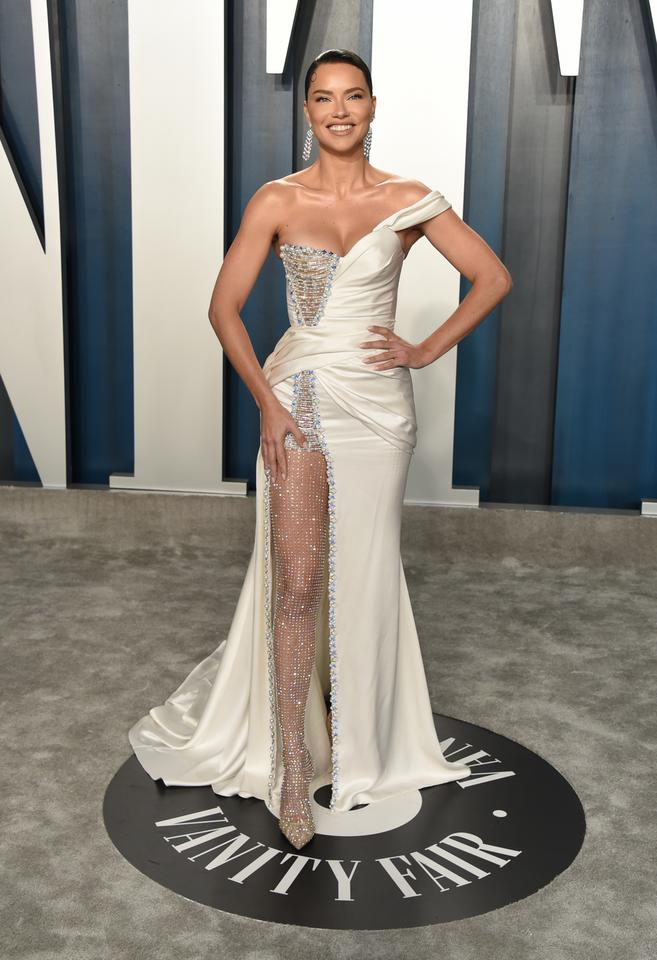 Oscary 2020: Adriana Lima na Vanity Fair Oscar Party