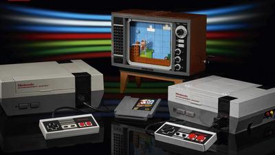 Nintendo and Lego teamed up to create a Lego version of the classic NES game console, on sale August 1 for $200 (NTDOY)