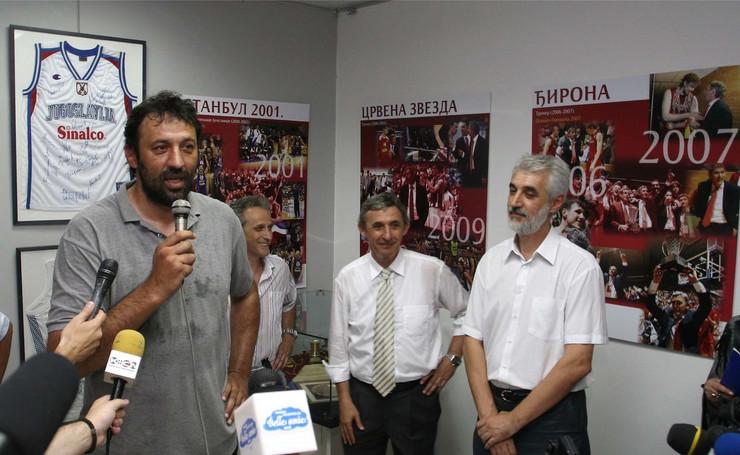 Vlade Divac i Svetislav Kari Pešić
