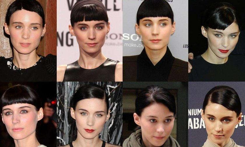 Rooney Mara fryzura