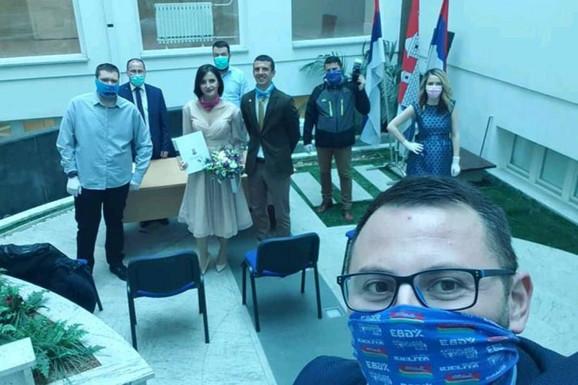 Venčanje u Artijumu gradske uprave Banjaluka