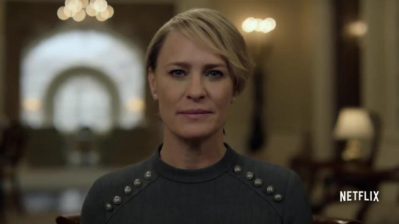 """Robin Wright w serialu """"House of Cards"""""""