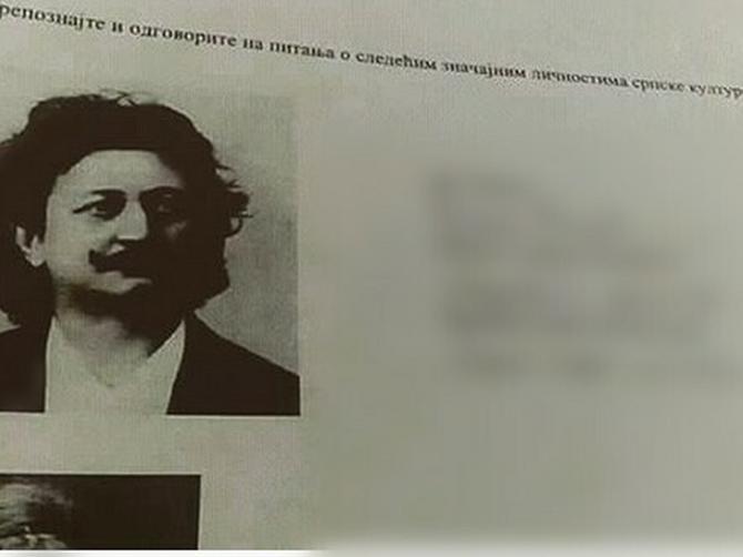 Žestok blam iz SRPSKE ŠKOLE: Na pitanje KO je osoba sa slike, đak je dao NEVEROVATAN ODGOVOR