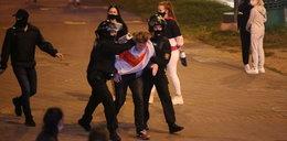 Dramatyczne sceny w Mińsku. Milicja brutalnie rozpędza demonstrantów
