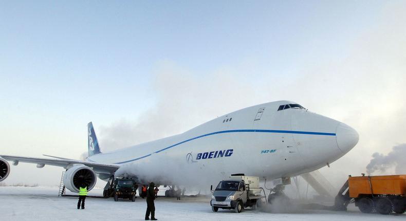 Boeing plane undergoes test before flying (Travel + Leisure)