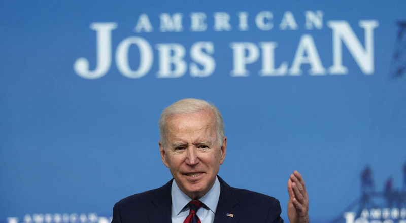Biden reportedly briefed major bank CEOs before unveiling infrastructure plan, corporate tax hike