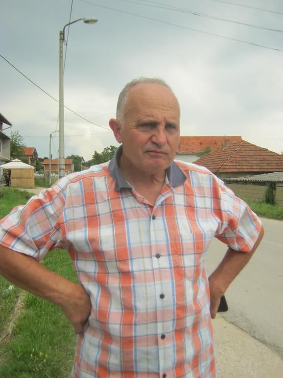 Stojan Stevanović, smenjeni predsednik Crkvenog odbora
