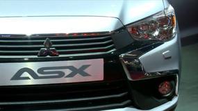 Mitsubishi ASX - face lifting crossovera (Targi Paryż 2016)