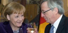 Pijak rządzi Europą. On wypija nawet...