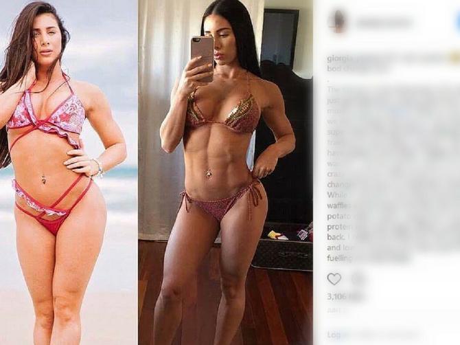 Za tri meseca se izobličila od brze hrane: OVAKO izgleda njeno telo nakon dijete