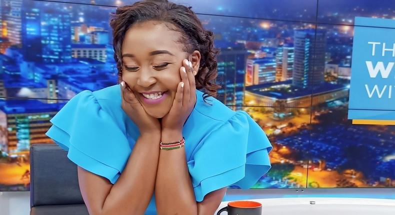 Betty Kyallo's reaction after fan shared TBT photo of wedding with Okari