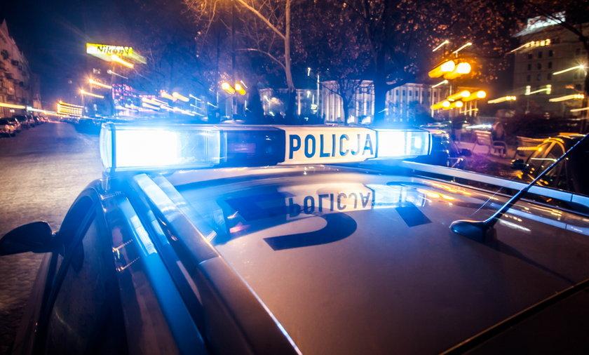 Atak nożownika w Krakowie