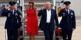Melania Trump w szpilkach za 24 tysiące złotych. Ładne?