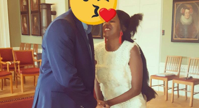 Ex-KBC Presenter Elizabeth Irungu weds longtime boyfriend in Denmark