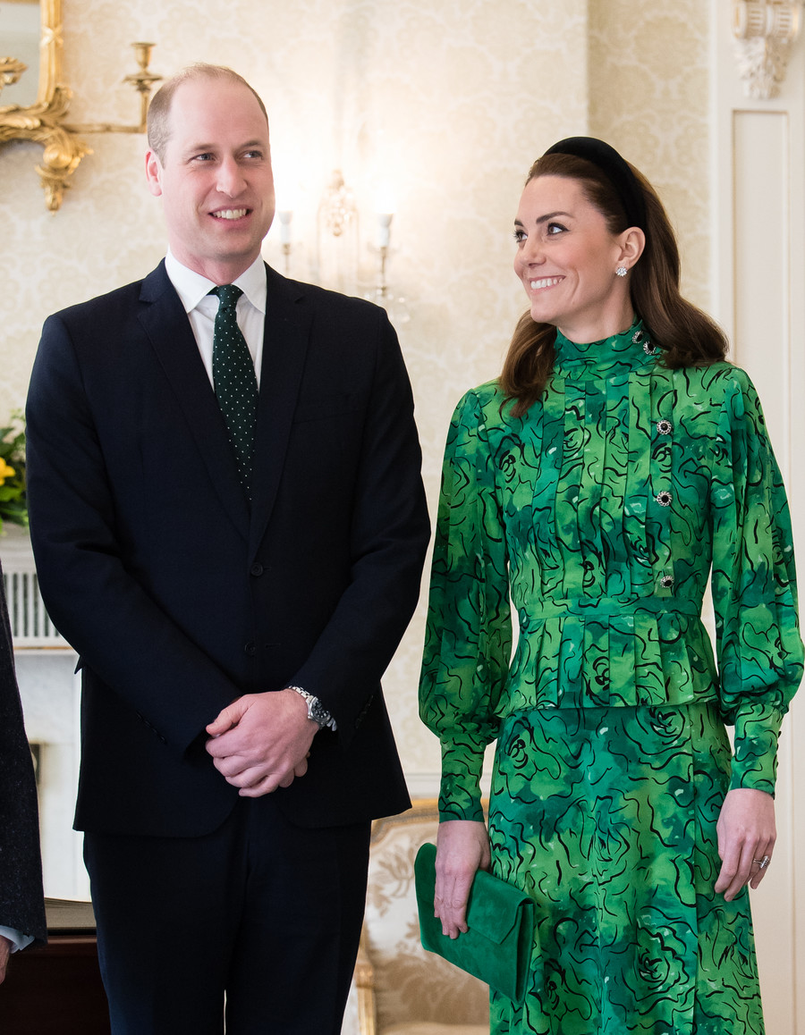 Kate Middleton i książę William / Samir Hussein / GettyImages
