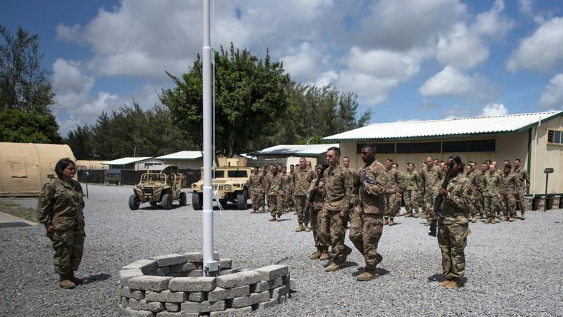 Baza wojskowa w Kenii