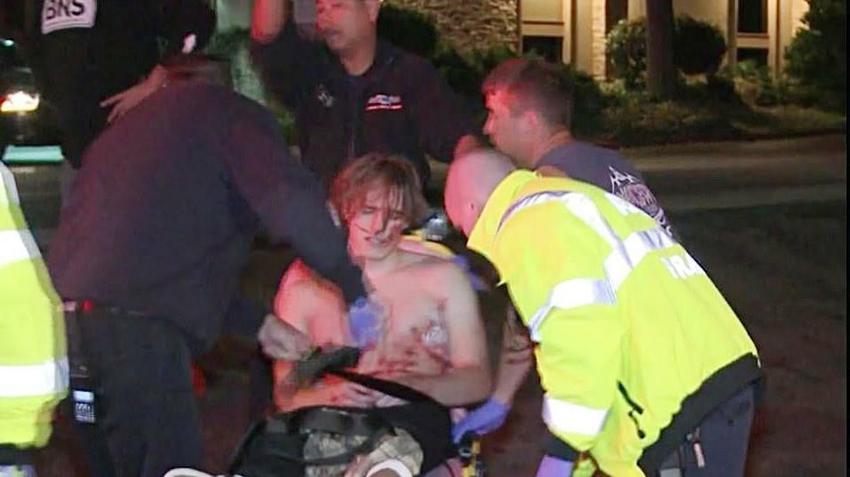 Strzelanina W Nowej Zelandii Film Image: USA: Strzelanina W Barze W Thousand Oaks. Wstrząsające