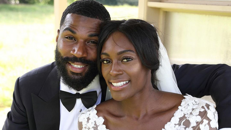 BBNaija housemate, Mike got married to fellow athlete, Perri before auditioning for BBNaija 2019. [Instagram/itspsd]