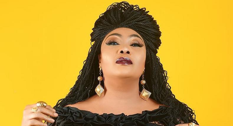 Anunobi is a Nigerian actress, producer, and pastor. [Instagram/EuchariaAnunobi]