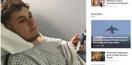 Po powrocie z wakacji myślał, że jest przemęczony z przepicia. Gdy trafił do szpitala, usłyszał straszną diagnozę